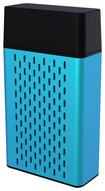 Hype - Aluminum Bluetooth Stereo Speaker for Select Apple® iPhone® and iPad® Models - Blue