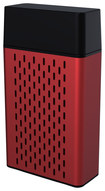 Hype - Aluminum Bluetooth Stereo Speaker for Select Apple® iPhone® and iPad® Models - Red