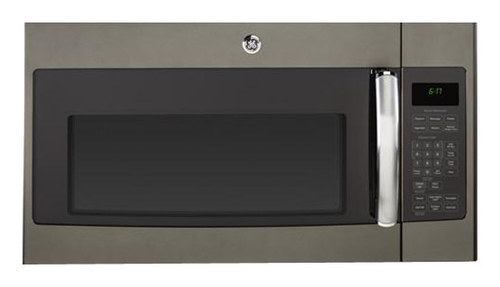 GE - 1.7 Cu. Ft. Over-the-Range Microwave - Slate