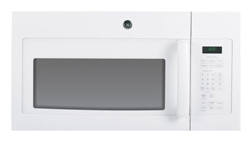 GE - 1.7 Cu. Ft. Over-the-Range Microwave - White