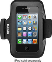 Belkin - Slim-Fit Arm Band Case for Apple® iPhone® 4 - Black