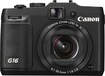 Canon - PowerShot G16 12.1-Megapixel Digital Camera - Black