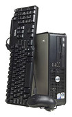 Dell - Refurbished OptiPlex Desktop - Intel Core 2 Duo - 4GB Memory - 1TB Hard Drive - Gray/Black