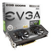EVGA - NVIDIA GeForce GTX 760 2GB GDDR5 PCI Express 3.0 Superclocked Graphics Card - Black