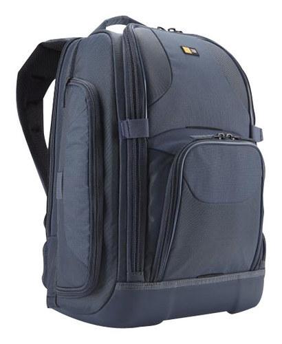 """Case Logic - Backpack for 17"""" Apple® MacBook® Pro - Steel"""