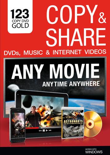 123 Copy DVD Gold - Windows