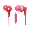 Panasonic - Earbud Headphones - Pink