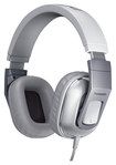 Panasonic - Top-of-Head Monitor Headphones - Silver