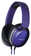 Panasonic - Top-of-Head Monitor Headphones - Purple