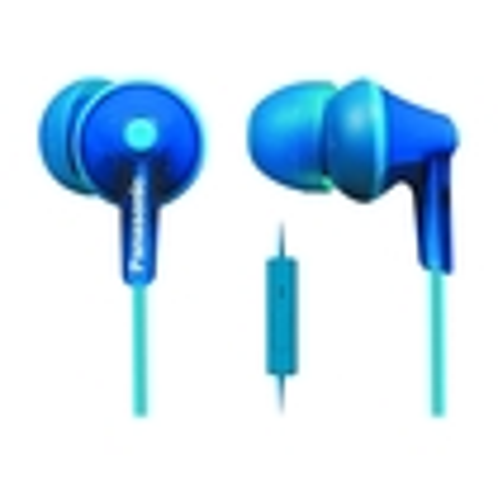 Panasonic - Earbud Headphones - Blue