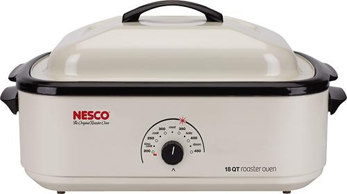 Nesco - 18-Quart Roaster Oven - White