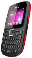 Blu - Samba TV Cell Phone (Unlocked) - Black/Red