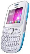 Blu - Samba TV Cell Phone (Unlocked) - White/Blue