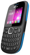 Blu - Samba TV Cell Phone (Unlocked) - Black/Blue