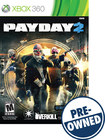 PAYDAY 2 - PRE-OWNED - Xbox 360