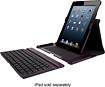 Targus - Versavu Keyboard Case for Apple® iPad® Air - Black Cherry