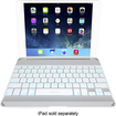 ZAGG - ZAGGkeys Cover and Bluetooth Keyboard for Apple® iPad® Air - White