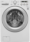 LG - 4.0 Cu. Ft. 7-Cycle Ultralarge-Capacity High-Efficiency Front-Loading Washer - White