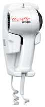Andis - Hang Up 1600 Wall-Mounted Dryer - White