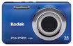 Kodak - FZ51 16.2-Megapixel Digital Camera - Blue