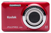 Kodak - FZ51 16.2-Megapixel Digital Camera - Red