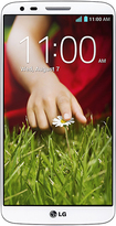 LG - G2 4G with 32GB Memory Cell Phone - White (AT&T)