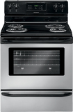 "Frigidaire - 30"" Self-Cleaning Freestanding Electric Range - Stainless/Stainless look"