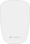 Logitech - T631 Ultrathin Optical Touch Mouse - White