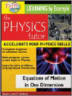 The Physics Tutor: Equations of Motion in One Dimension (DVD)