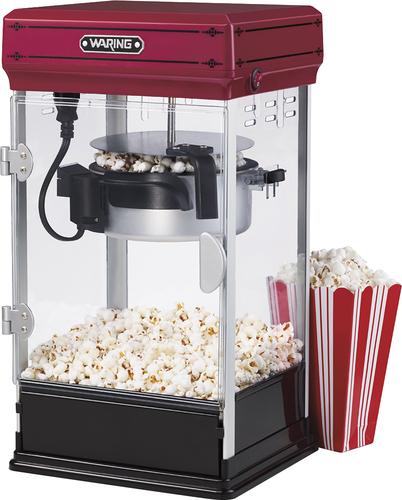 Waring Pro - 10-Cup Popcorn Maker - Red/Black