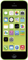Apple - iPhone 5c 16GB Cell Phone - Green (Sprint)