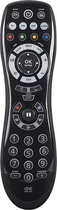 One For All - 4-Device Universal Remote - Black