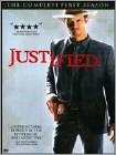 Justified: Season One [3 Discs] (DVD) (Enhanced Widescreen for 16x9 TV) (Eng/Por/Spa)