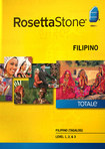 Rosetta Stone Version 4 TOTALe: Filipino (Tagalog) Level 1 - 3 Set - Mac|Windows
