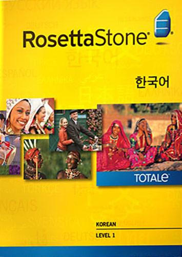 Rosetta Stone Version 4 TOTALe: Korean Level 1 - Mac|Windows