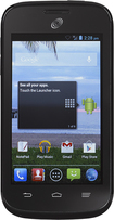 NET10 - ZTE Savvy No-Contract Cell Phone - Black