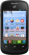 TRACFONE - ZTE Valet No-Contract Cell Phone - Black