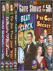 Tv Game Shows Of The 50s (4 Disc) (DVD) (Boxed Set) (Black & White)