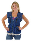 Photographic Outfitters - Photo Vest (Extra Large) - Blue Denim