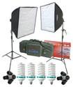 RPS Studio - 280W Dual Square Softbox Kit