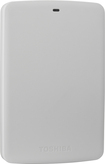 Toshiba - Canvio Basics 1TB External USB 3.0 Portable Hard Drive - White