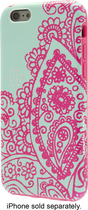 Nanette Lepore - Case for Apple® iPhone® 6 - Teal/Pink