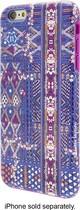 Nanette Lepore - Texture Print Hard Shell Case for Apple® iPhone® 6 Plus - Blue/Multi