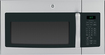 GE - 1.7 Cu. Ft. Over-the-Range Microwave - Stainless-Steel with Black Accents