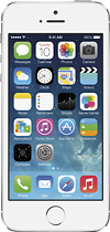 Apple - iPhone 5s 64GB Cell Phone - Silver (AT&T)