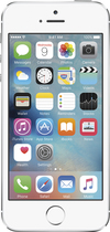 Apple - iPhone 5s 32GB Cell Phone - Silver (Sprint)