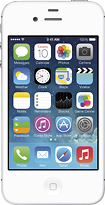 Apple - iPhone 4s 8GB Cell Phone - White (AT&T)