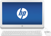 "HP - Slate 21.5"" Touch-Screen Smart Display - Android 4.2.2 - 1GB Memory - 8GB Flash (eMMC) Memory - White"