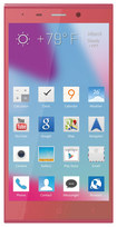 Blu - Life Pure XL 4G Cell Phone (Unlocked) - Pink