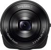 Sony - DSC-QX10 18.2-Megapixel Attachable Lens-Style Camera for Most iOS and Android Mobile Phones - Black